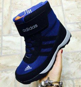 Детские зимние ботиночки 34 размер