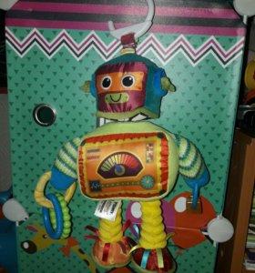 Робот игрушка, Погремушка, прорезыватель