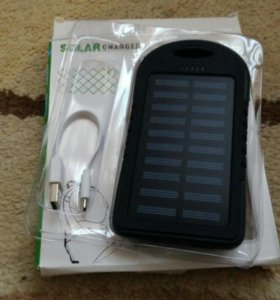 Внешний Аккумулятор с Солнечной батареей