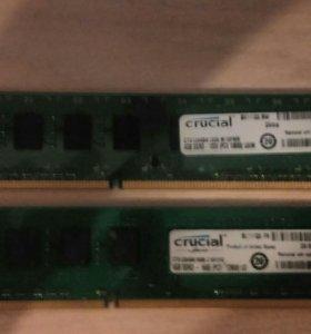 ОЗУ Crucial 4GB DDR3