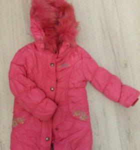 Зимняя курточка.рост 110