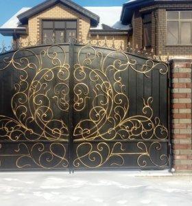 Ворота Кованые Заборы