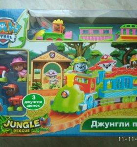 Джунгли поезд (детская железная дорога)