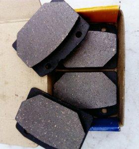 Колодки дискового тормоза ваз 2101 - 2107