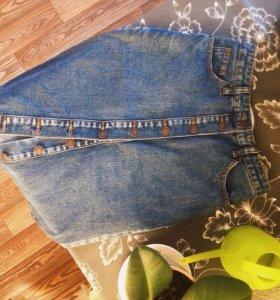Джинсовая юбка(новая)