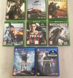 Игры для приставок PS4 XBOX ONE