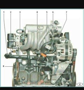 Блок двигателя Нексия