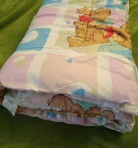 Чистошерстяное одеяло