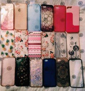 Чехлы для iPhone 5/5s(18шт)