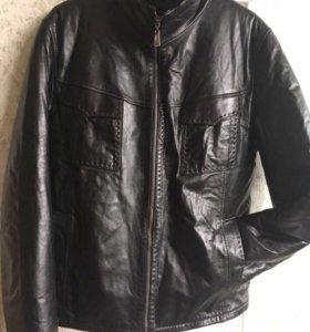 Куртка кожа на цигейке 44-46раз