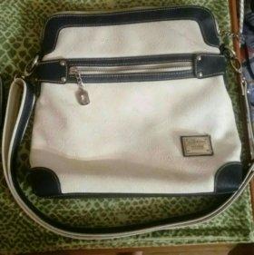 Турецкая кожаная сумка брендовая
