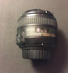 Nikon 50mm f/1.4G AF-S DX Nikkor