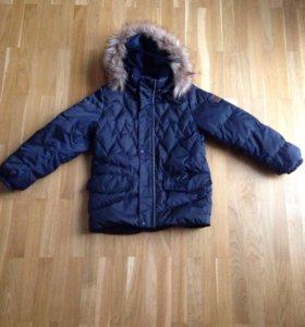 Куртка пуховик для мальчика reima
