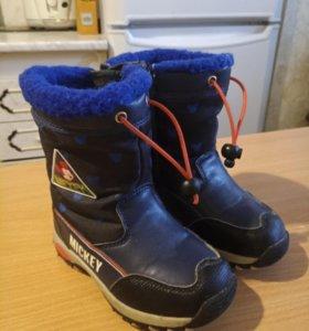 зимние ботинки 26 р-р