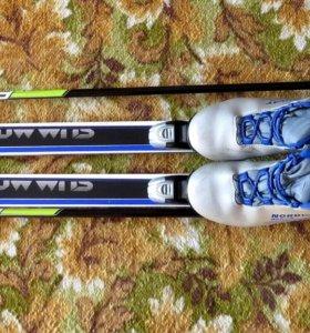 Лыжный комплект Fischer Summit Crown подростковый