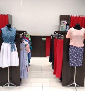 Оборудование для магазина одежды, плечики