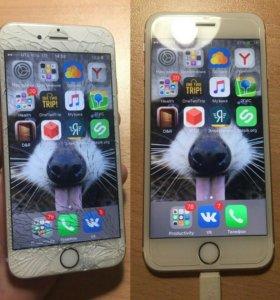 Стекло и дисплей для iPhone 4,4s,5,5s,6,6s