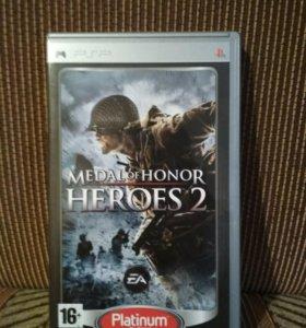 medal of honor heroes 2 (psp диск)