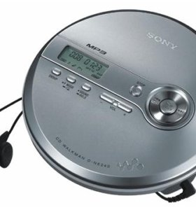 CD-MP3 плеер sony D-NE240 новый