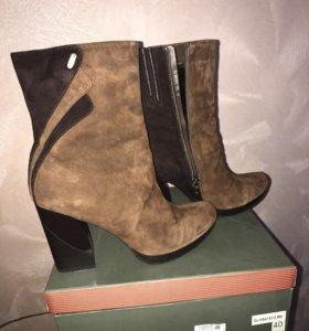 Ботинки (полусапожки) зимние женские