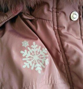 Куртка зимняя/ девочке/ 116