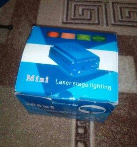 Проектор, лазер шоу