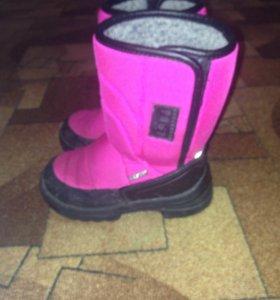 Зимние ботиночки
