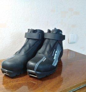 Продам лыжные ботинки trek, spine