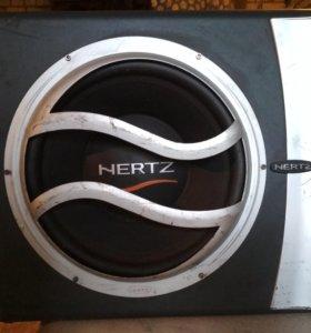 Саб.HERTZ EBX 300R+Усилок. Z4200 Mac Audi