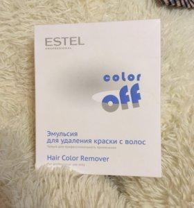 Смывка для краски с волос