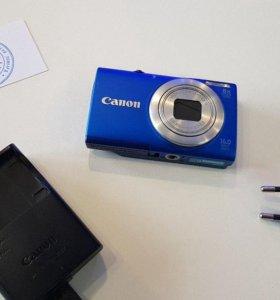Отличный фотоаппарат Canon.