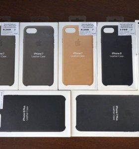 Оригинальные чехлы iphone Кожа  и кабеля 2-0,5м.