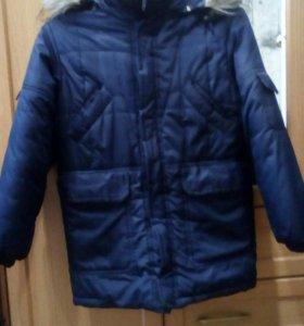 Куртка подростковая-зимняя(9-12лет)