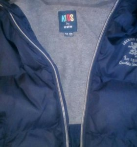 Куртка для мальчика зима рост 128