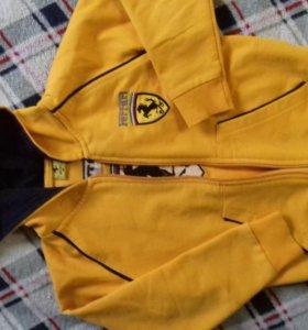 Курточка и олемпийка