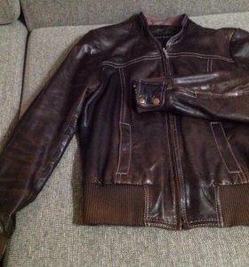 Куртка кожа обмен