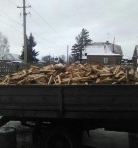 дрова рубленные