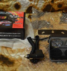 Светодиодная мигалка /стробоскоп для авто/мото