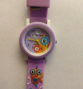 Детские наручные часы 104-2 фиолет рыбкт