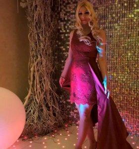 Вечерние платье 2 в 1