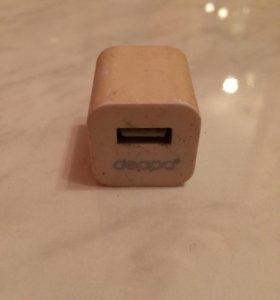 Сетевой USB адаптер (1А), Б/У.
