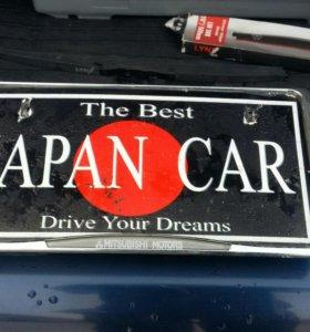 Рамка - держатель номера японского авто