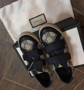 Детские кроссовки Gucci
