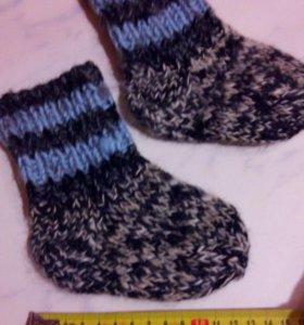Пуховые носки за шоколадку