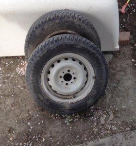 Зимний комплект колёс R 13