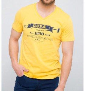 Us polo assn новая футболка L