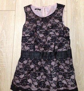 Кружевной топ / блуза Oodji