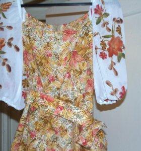 Платье эксклюзивное