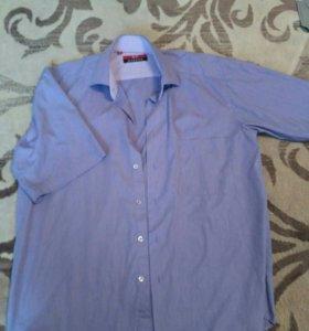 Мужские рубашки и женское платье