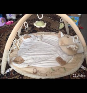 Развивающий коврик+прыгунки